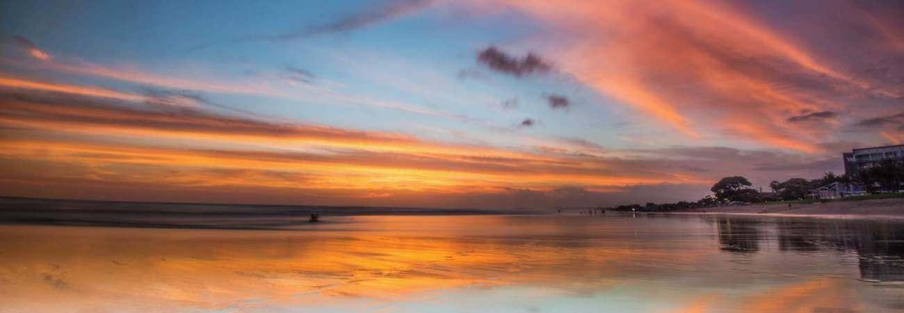 Legian puesta de sol