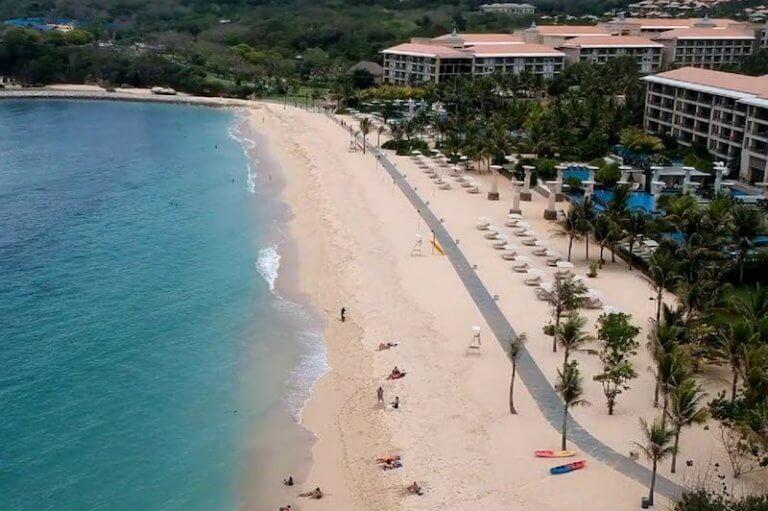 Geger Beach playa tranquila