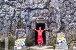 Goa Gajah el Templo de la Cueva del Elefante