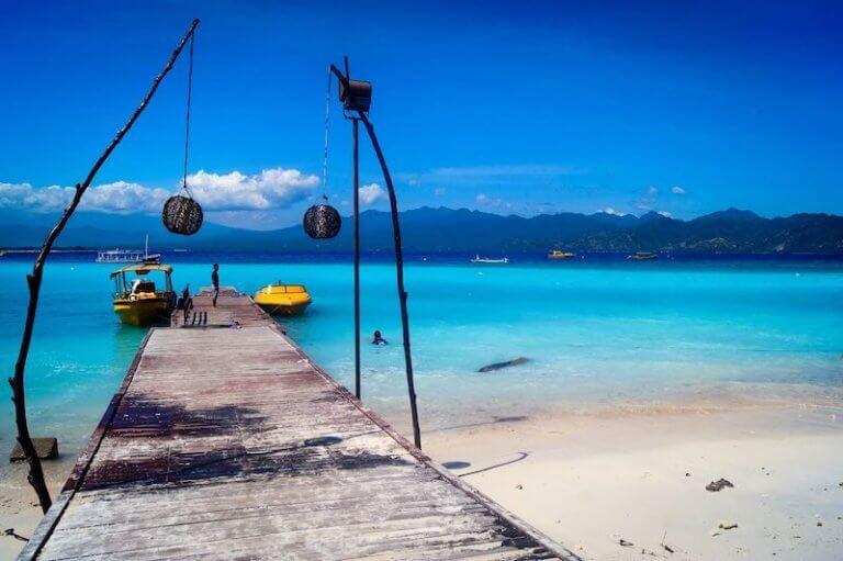 Playas de Gili Islands