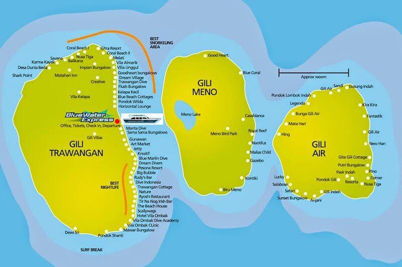 Buceo en Islas Gili