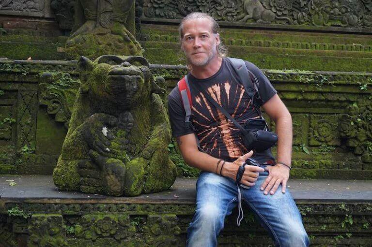 Templo de Monkey Forest en Ubud