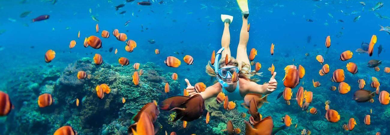 Snorkel en Nusa Lembongan
