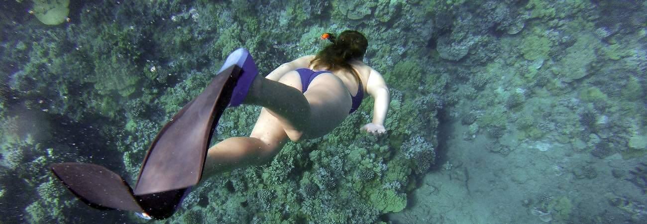 Snorkeling en Blue Lagoon Padangbai Bali