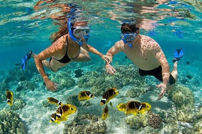 Snorkeling en Tanjun Jepun