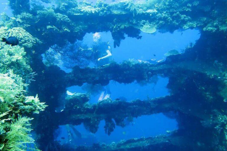 Diving USAT Liberty Wreck Bali