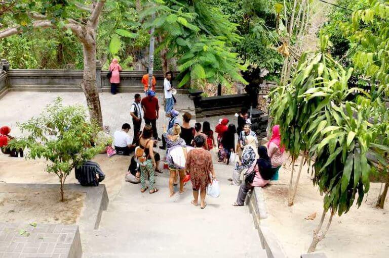 Entrada a Padang Padang