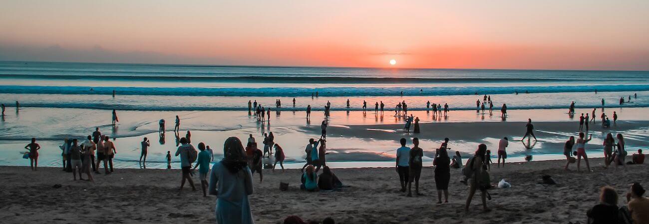 Puesta de sol Isla de Bali