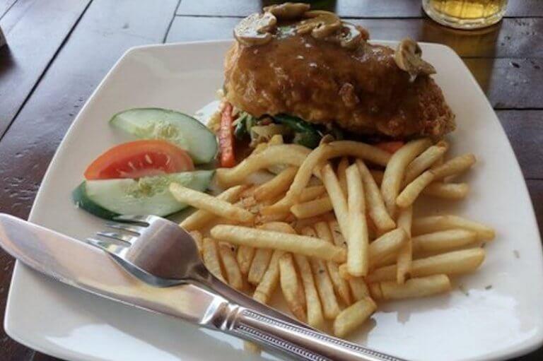 Seahua ha ha Restaurant en Tulamben