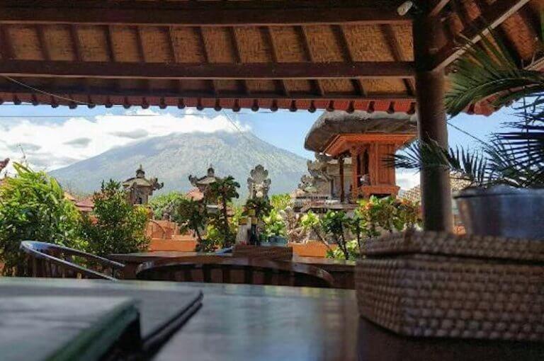 Wayan Restaurant en Tulamben Bali