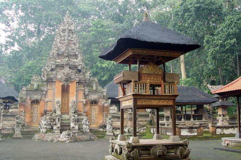 Pura Dalem Agung - Monkey Forest