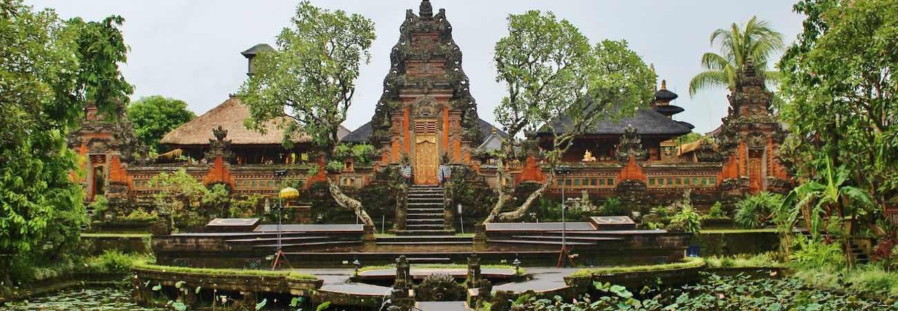 Pura Taman Saraswati Templos en Ubud